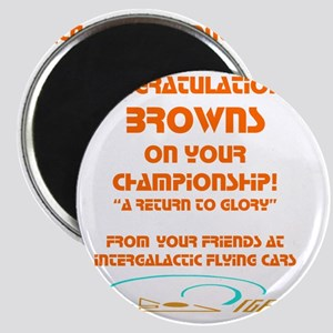 Browns IGFC trans color  Magnet