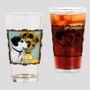 arnie van gogh good copy copy Drinking Glass
