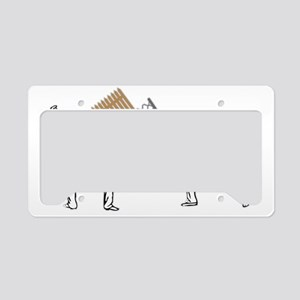 fencing License Plate Holder