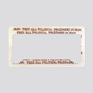 AshcraftKouroshFlat License Plate Holder