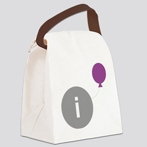 introvert party logo Canvas Lunch Bag