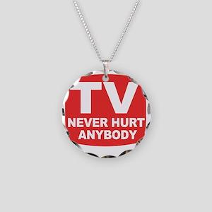 neverhurtanybody Necklace Circle Charm