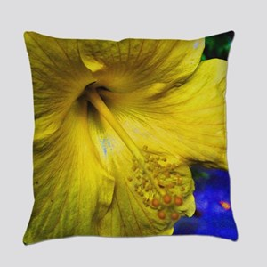 Hibiscus Everyday Pillow