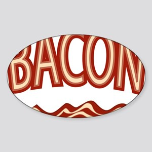 Bacon Sticker (Oval)