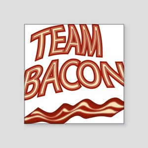 "Team Bacon3 Square Sticker 3"" x 3"""