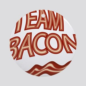 Team Bacon3 Round Ornament
