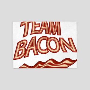 Team Bacon3 5'x7'Area Rug