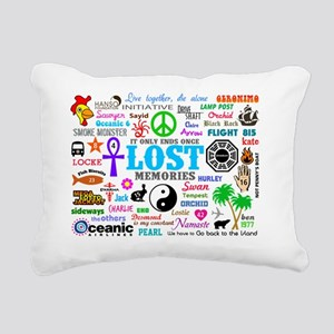 LOST SmPoster Rectangular Canvas Pillow
