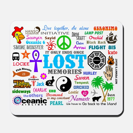 LOST SmPoster Mousepad