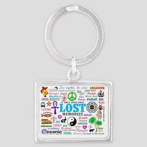 LOST SmPoster Landscape Keychain