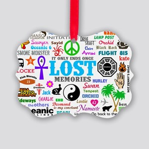 LOST SmPoster Picture Ornament