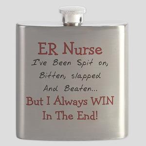 ER Nurse SLAPPED BEATEN Flask