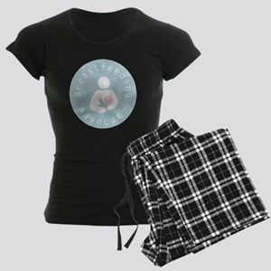 Breastfeeding Advocate - 4 Women's Dark Pajamas