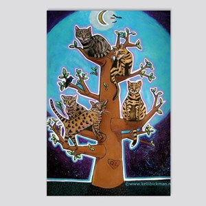 bengaltree copy Postcards (Package of 8)