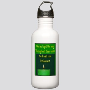 Nurse Retirement Cards Stainless Water Bottle 1.0L