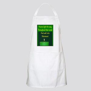 Nurse Retirement Cards Apron