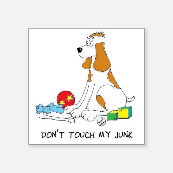 """junk5 COPY Square Sticker 3"""" x 3"""""""