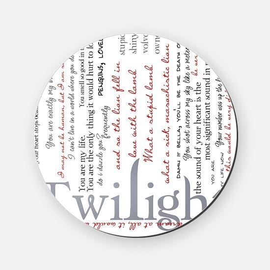 twilight quotes-bLANKET Cork Coaster