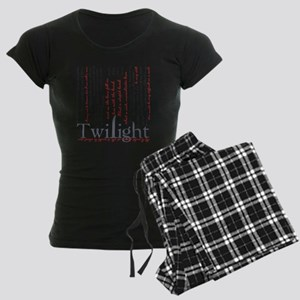 twilight quotes-bLANKET Women's Dark Pajamas