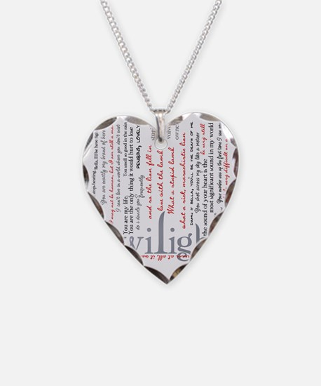 twilight quotes-bLANKET Necklace