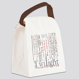 twilight quotes-bLANKET Canvas Lunch Bag