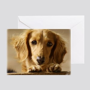 Dachshund 9L007D-15 Greeting Card