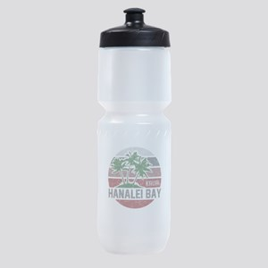 HANALEI BAY BEACH KAUAI Sports Bottle