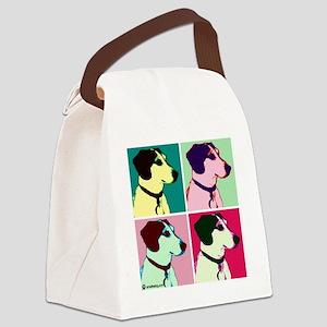 arnie monroe copy Canvas Lunch Bag
