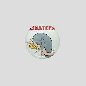 Beware of Manatees Mini Button