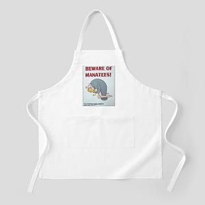 Beware of Manatees Apron