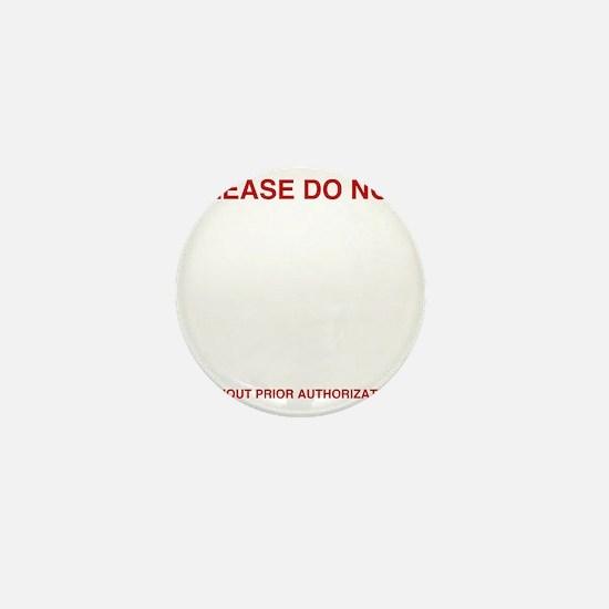 Please-do-not Mini Button
