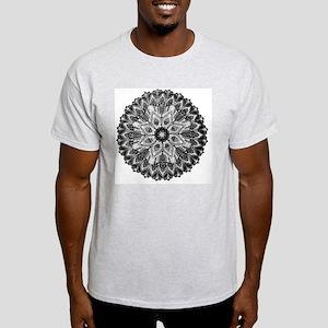 Mandala -BW Light T-Shirt