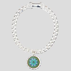 Mandala -Color Charm Bracelet, One Charm