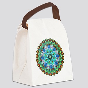 Mandala -Color Canvas Lunch Bag