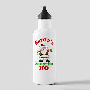 Santas Ho Btn Stainless Water Bottle 1.0L