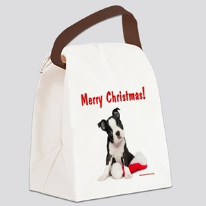 merry_christmas_2 Canvas Lunch Bag