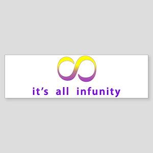 Infunity Bumper Sticker
