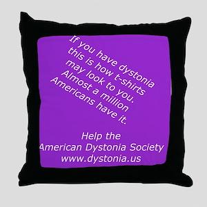 ADSTShirt1 Throw Pillow