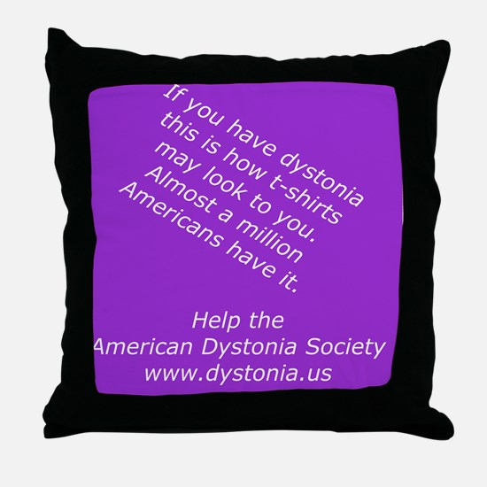ADSTShirt1 Throw Pillow