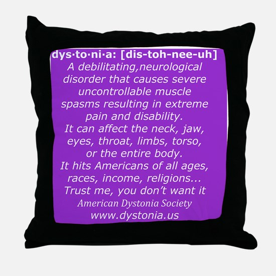 ADSTShirt2 Throw Pillow