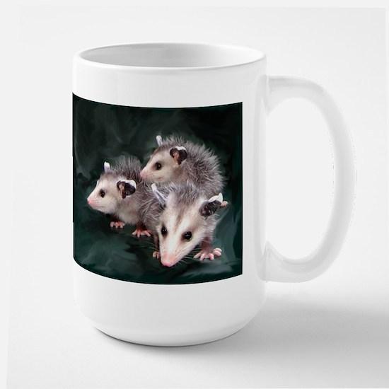 opossum 3 Large Mug