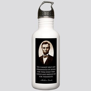 Lincoln--You-cannout-h Stainless Water Bottle 1.0L