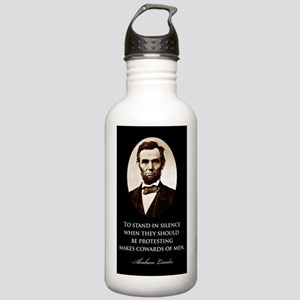 Lincoln--to-stand-in-s Stainless Water Bottle 1.0L