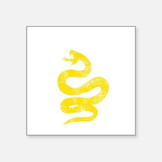 """DTOM Grunge Square Sticker 3"""" x 3"""""""