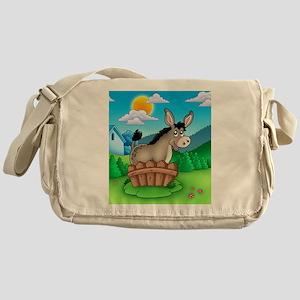Sunny Donkey Messenger Bag