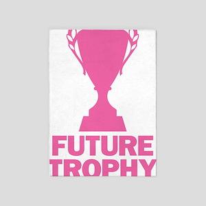 Future Trophy Wife 5'x7'Area Rug