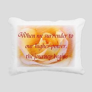 Surrender Rectangular Canvas Pillow