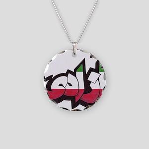 AshcraftAzadiRWGcropped Necklace Circle Charm