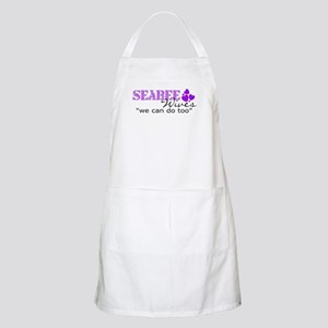 "Seabee Wives ""we can do too"" BBQ Apron"