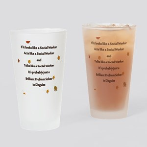 brilliant problem solver 2 Drinking Glass
